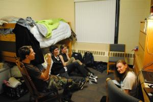 A Random Assortment of college students . . .