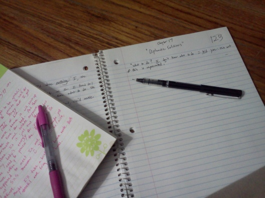 Just Writing